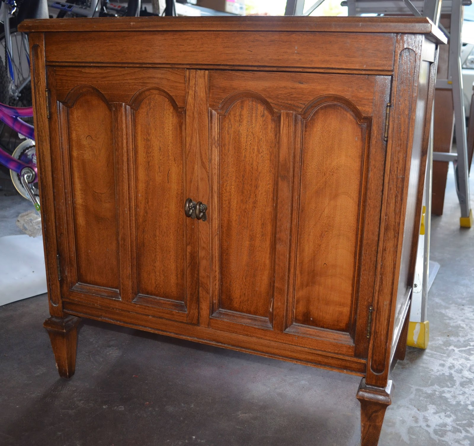 Old Record Cabinet | Vintage Roundabout