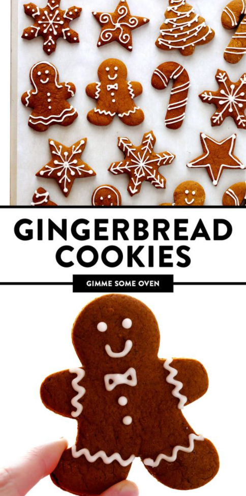 My Favorite Gingerbread Cookies That You Should Try To Make