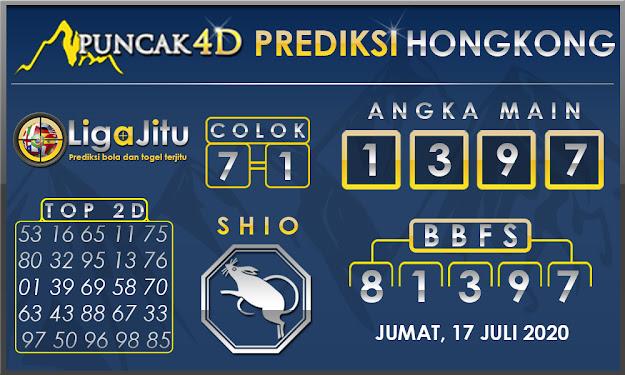 PREDIKSI TOGEL HONGKONG PUNCAK4D 17 JULI 2020