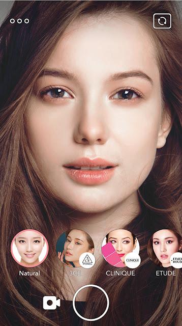 LOOKS可讓用戶隨心所欲嘗試各種超自然美妝造型