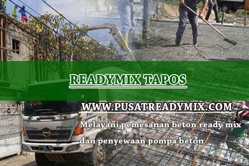 Harga Beton Ready mix Tapos 2020