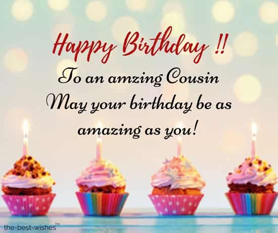 birthday wishes for cousin female