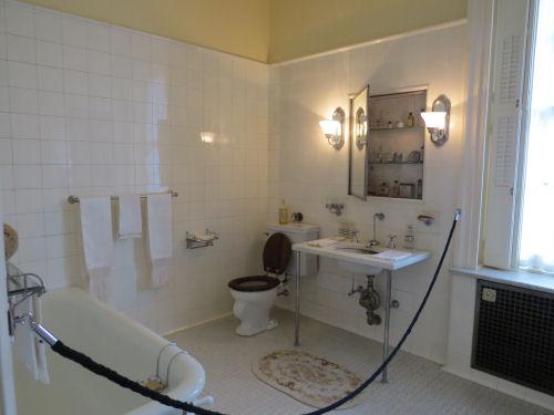 George Eastman bathroom