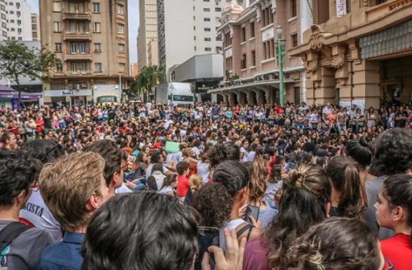 Manifestações em Porto Alegre-RS,17 de junho de 2013.