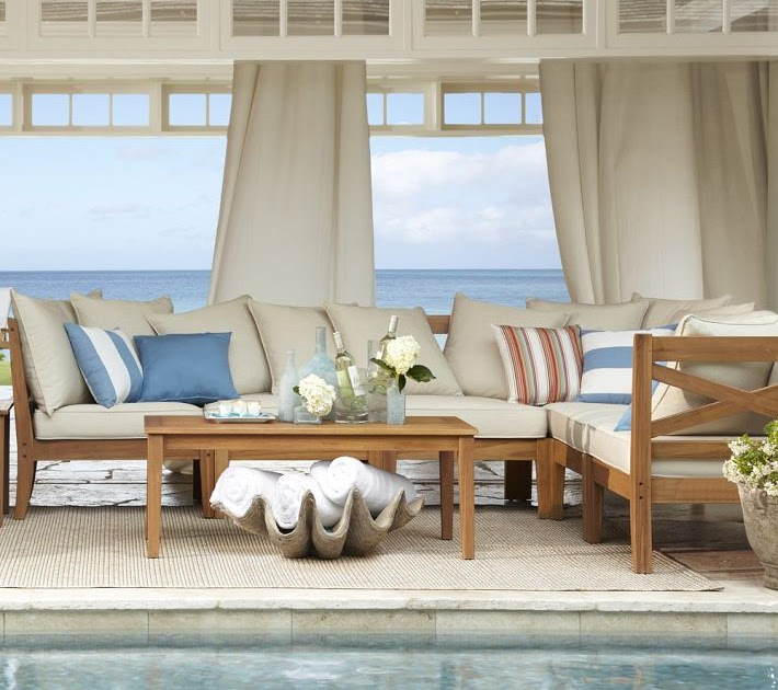 Pottery Barn Summer: Seaside Style: Summer Preview { Pottery Barn}
