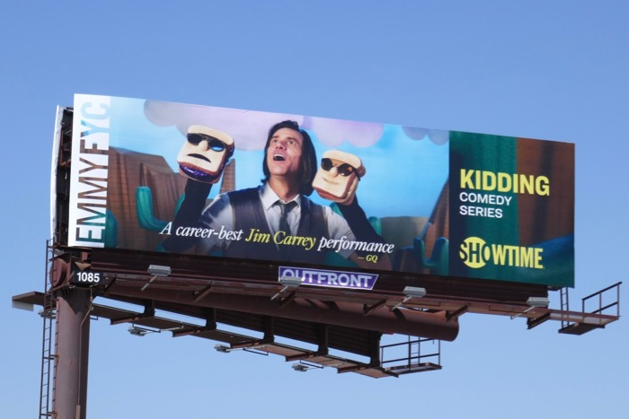 Kidding season 1 Emmy consideration billboard