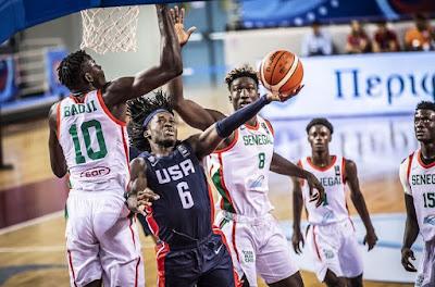 FIBA U19 World Cup - Senegal - USA