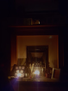 I knew I kept candles on the fireplace for a reason. They provided plenty of light during the power cut!