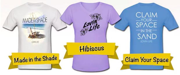 Lovin Life Apparel T-shirts