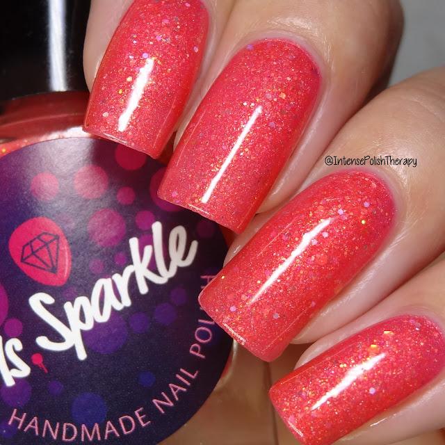 Ms. Sparkle - Tourmaline Dragon