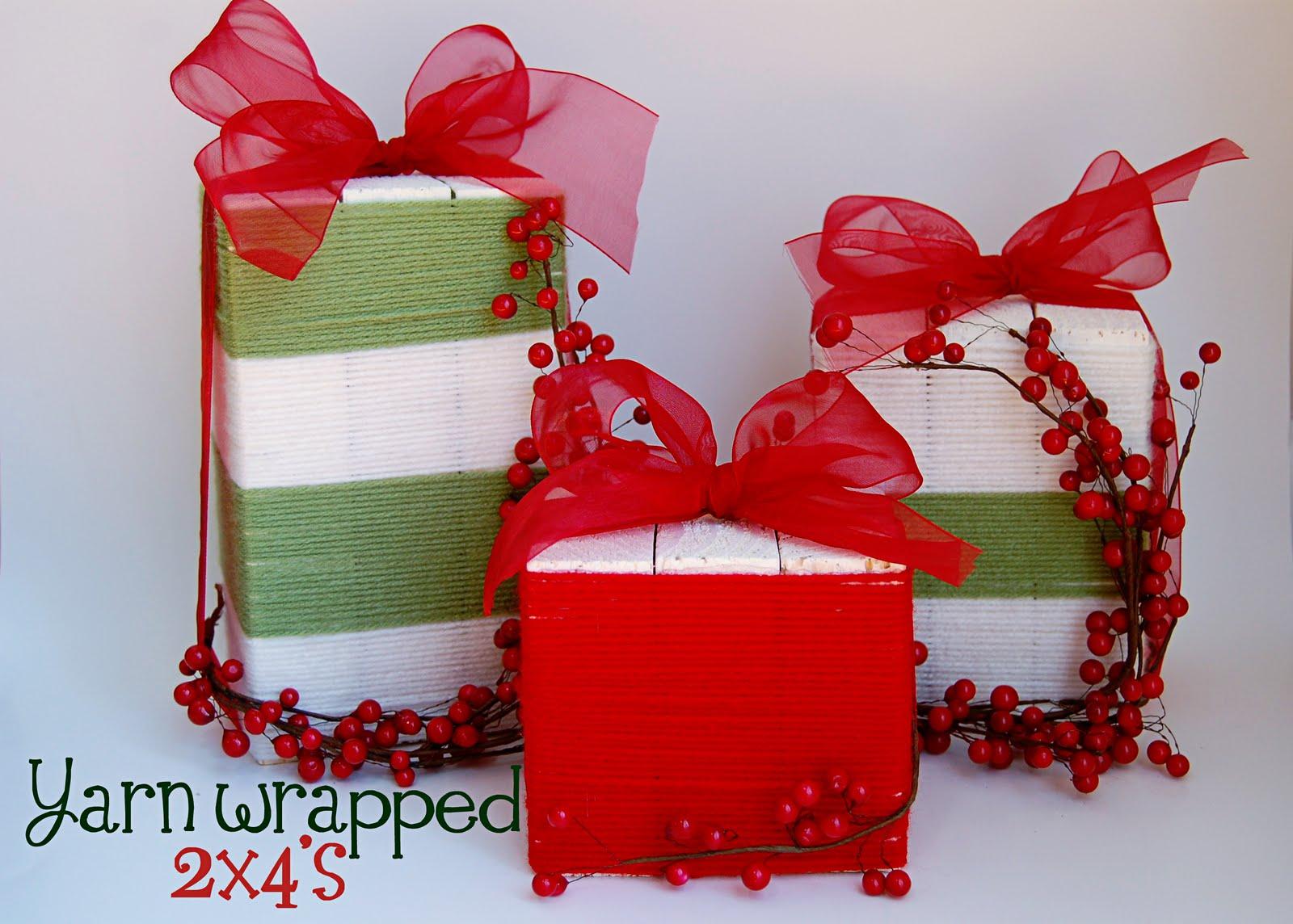 Wood christmas gifts