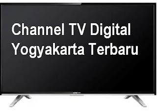 Channel Siaran TV Digital Jogja Dan Sekitarnya Terbaru Maret 2021