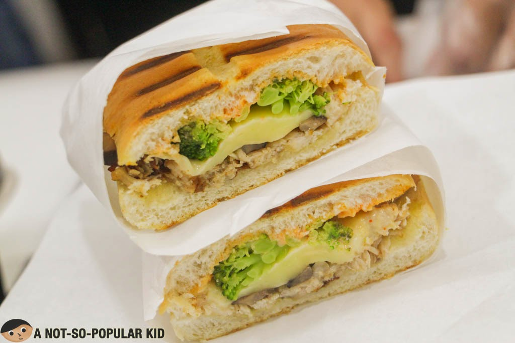 B.M.C. (Broccoli, Mushrooms and Chicken) Sandwich of Big Dog's Kitchen