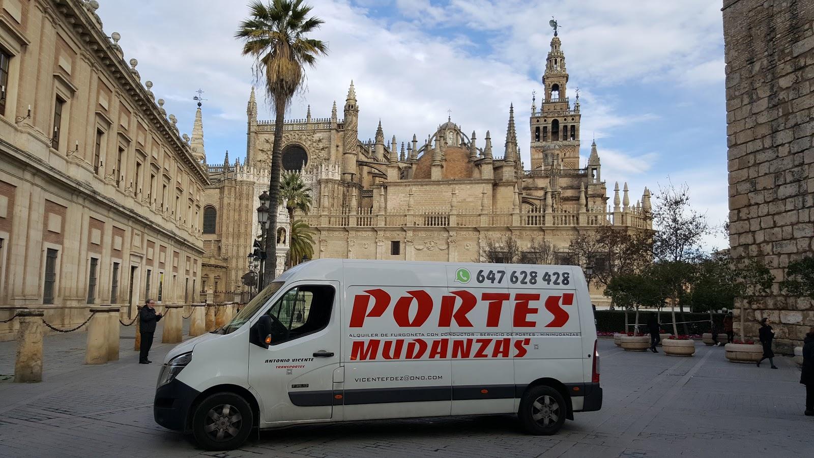PORTES Y MINI-MUDANZAS ANTONIO VICENTE.TFNO:647 628 428
