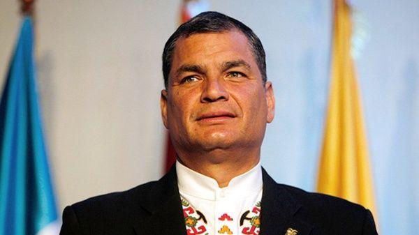 Rafael Correa rememora intento de golpe de Estado en su contra