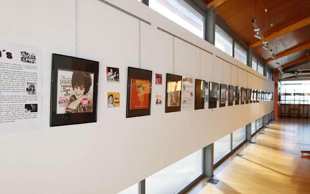 Exposicion cultura del rock en Illescas. IMAGEN ILLESCAS COMUNICACIÓN