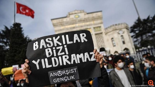 Μετωπική σύγκρουση Ερντογάν με τη νεολαία