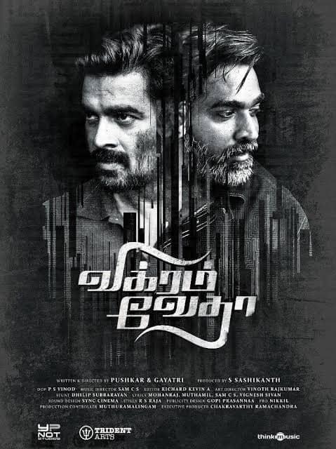 Vikram Vedha Full Movie Download in Hindi 720p, 480p tamilrockers