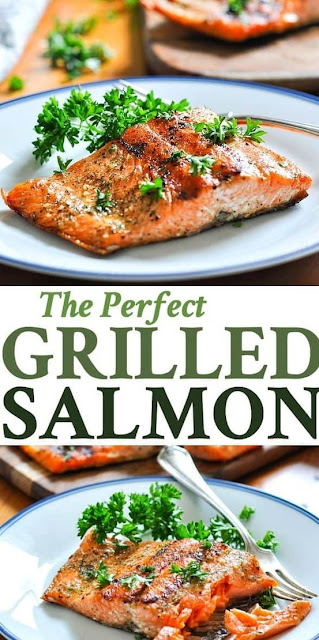 THE PERFECT GRILLED SALMON RECIPES