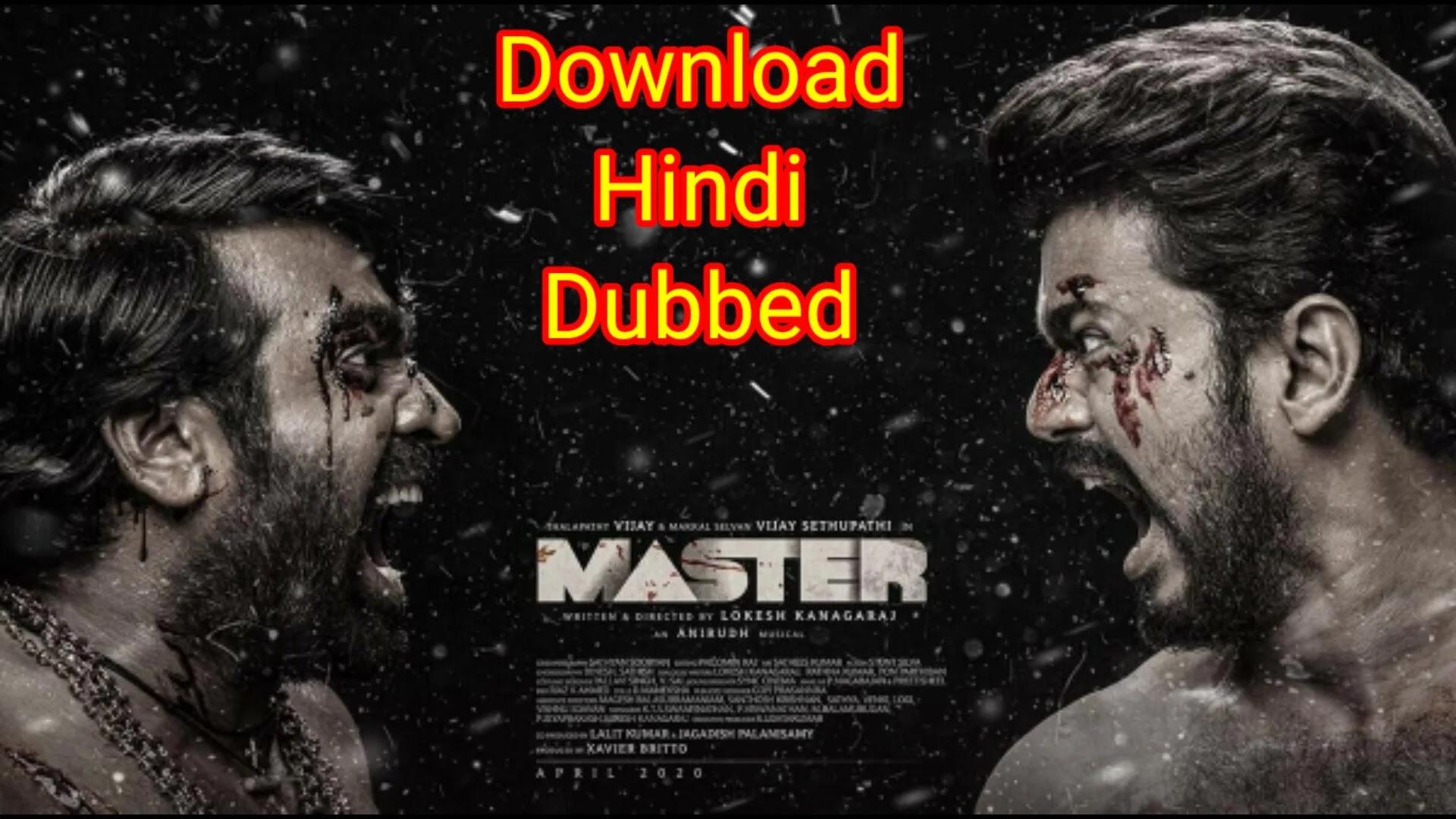 Master (2021) tamil Movie Hindi Dubbed Download