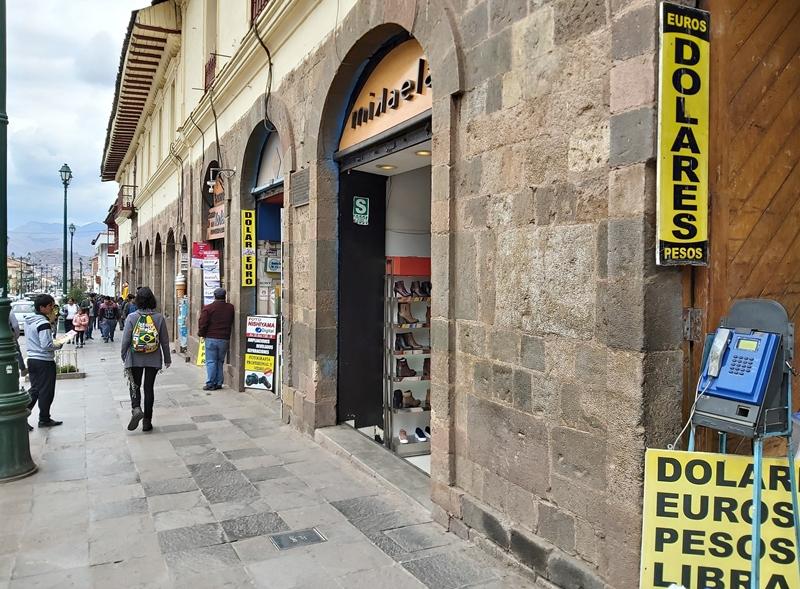Qual moeda levar para Cusco - Peru