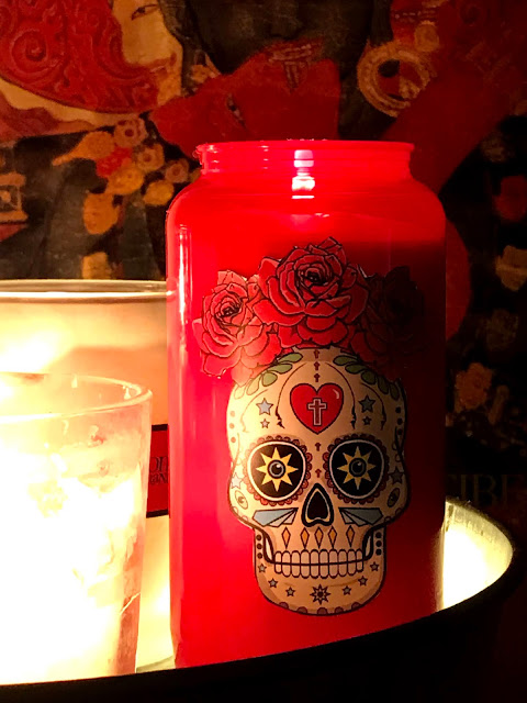 Sugar Skull With Rosses by Jimmo Designs