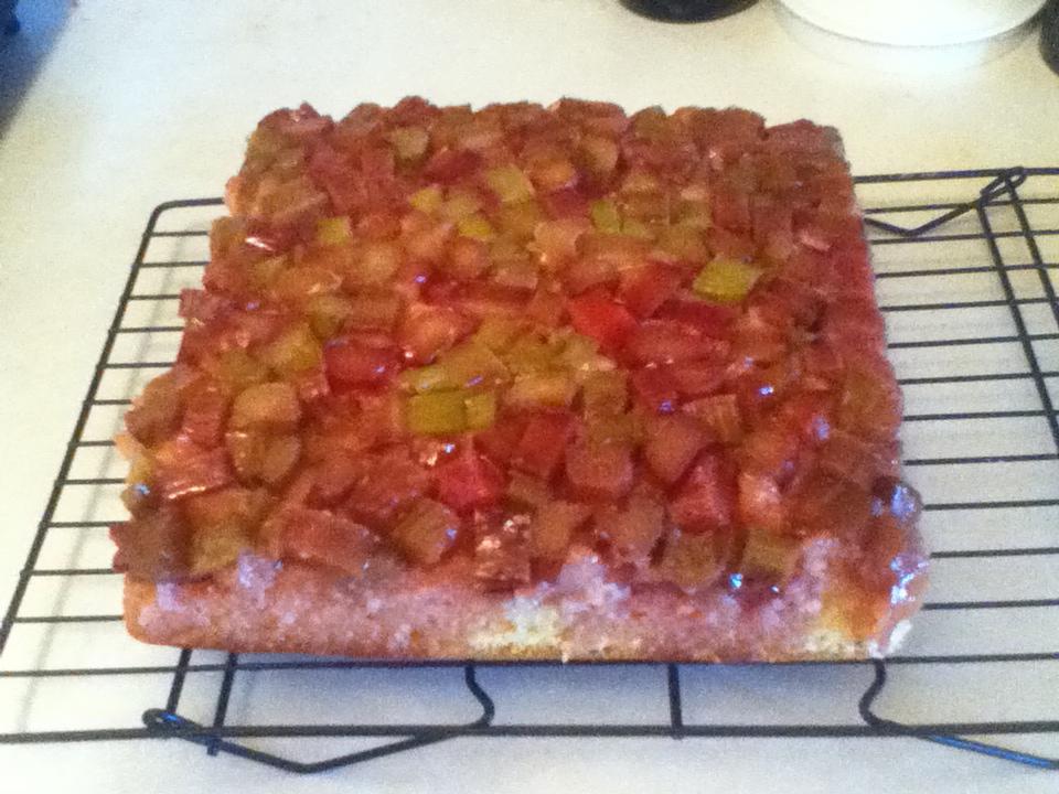 Nytimes Recipe Rhubarb Upside Down Cake