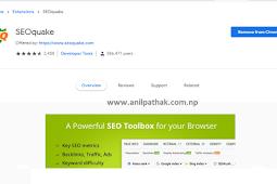SEO Quake Chrome - Important for Blogger