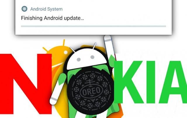نوكيا تعد مستخدميها  بتحديث جميع هواتفها الي أندرويد أوريو 8.0