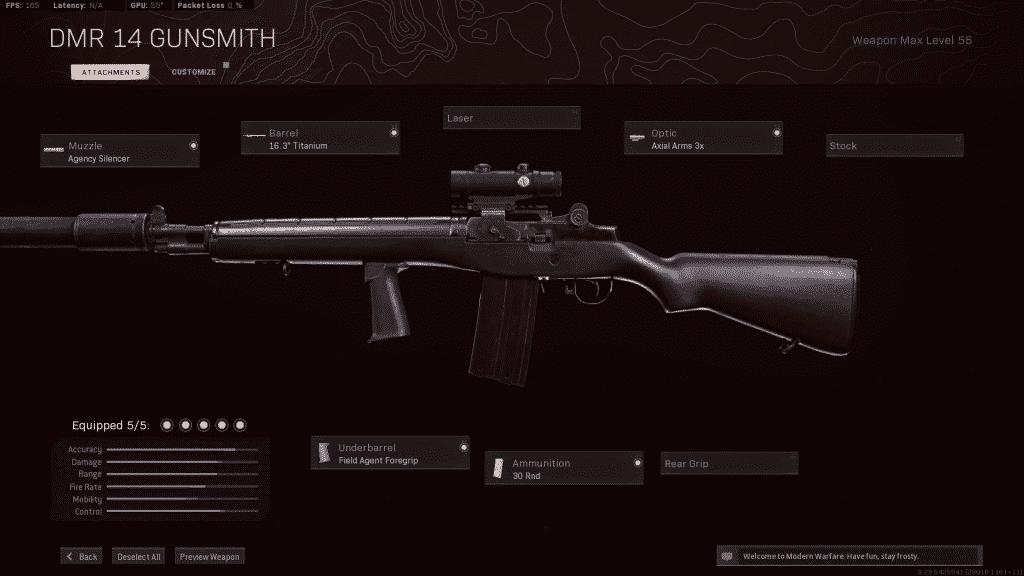 Warzone: DMR 14 setup delivers performance at all ranges