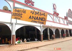 rail transport in anand gujarat