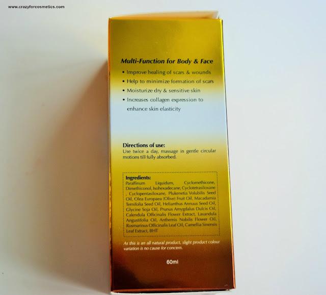 Bio Treatment Essence in Oil for scars overnight treatment