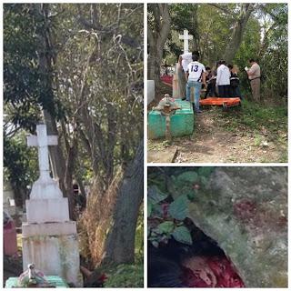 Asesinan a mujer en un panteón de Tuxpan