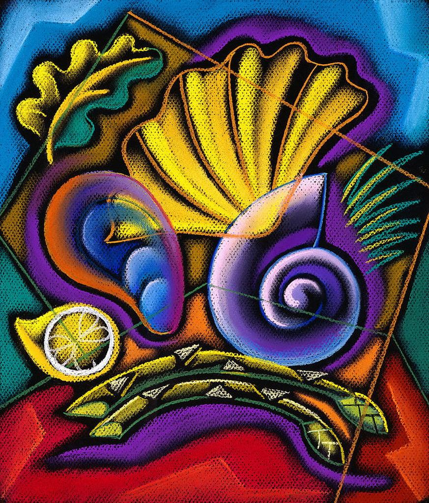 Cuadros modernos pinturas y dibujos frutas compendio de - Cuadros bodegones modernos ...