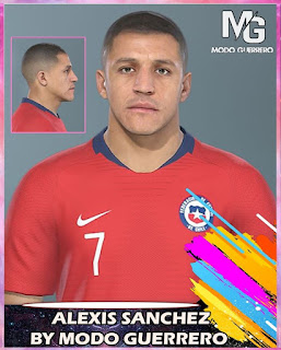 PES 2020 Faces Alexis Sanchez by Modo