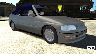 Download mod carro Ford Escort XR3 1995 Cabriolet par o jogo GTA San Andreas