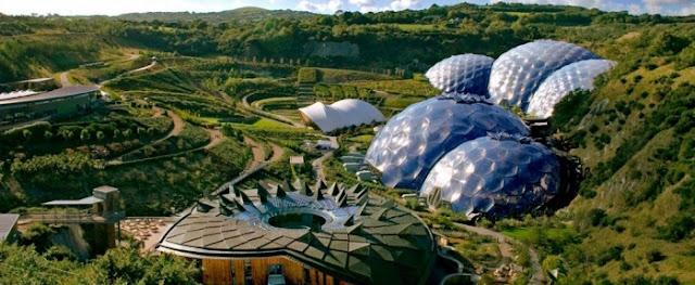 Проект Aldin передбачає будівництво кількох біокуполів в центрі ісландської столиці,