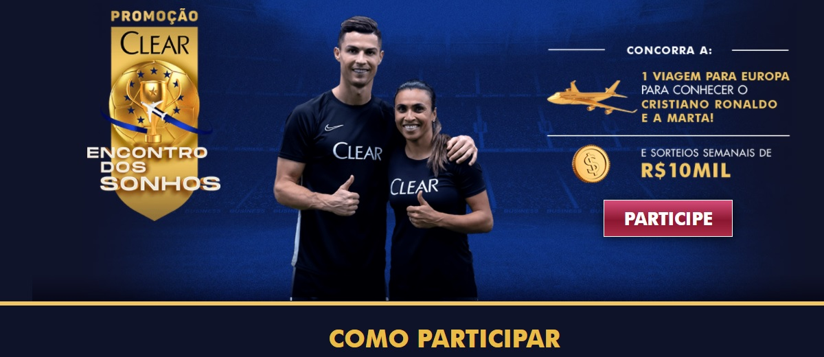 Promoção Encontro dos Sonhos Clear