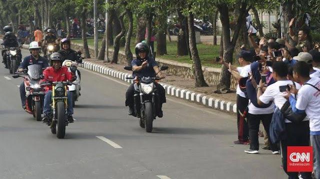 Jokowi langgar asas kesamaan dimata hukum. Mahasiswa Hukum gugat UU Lalu Lintas