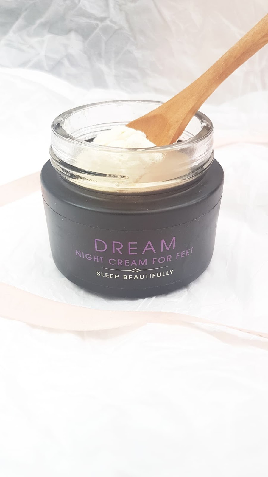 Kiss the Moon DREAM Night Cream for Feet Review