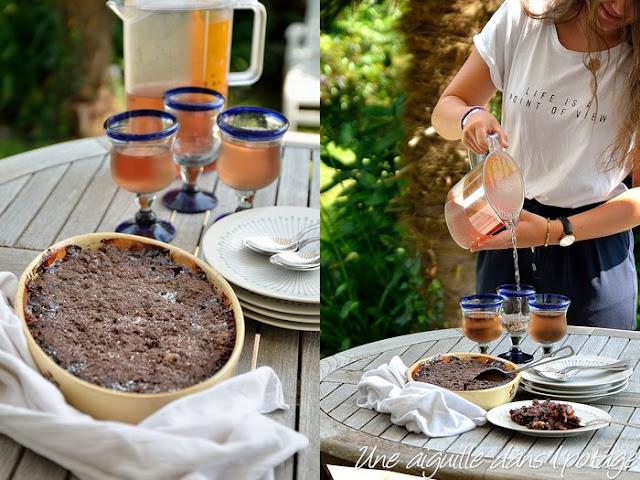 Crumble abricot-chocolat, de Christophe Felder