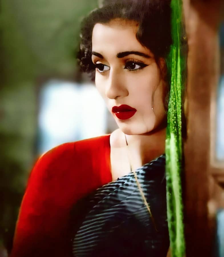colour pictures of madhubala