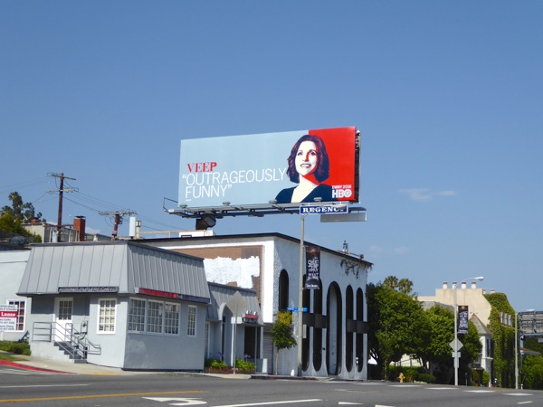 Veep 2016 HBO Emmy consideration billboard