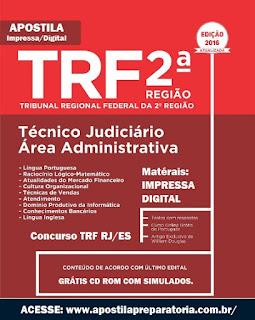 Apostila Concurso TRF2 RJ-ES - Tribunal Regional Federal da 2ª Região 2016