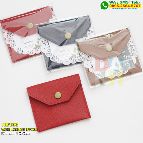 Coin Leather Pouch