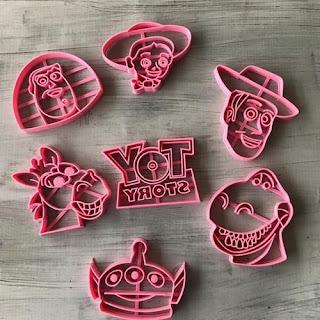 Cortadores de Biscoito Toy Story