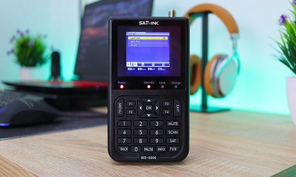 معاينة جهاز SatLink الرائع للحصول على اشارة الأقمار الصناعية | جهاز مفيد جداً !