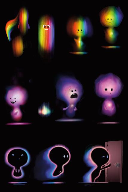 Pixar Soul Concept Artwork by Jason Deamer