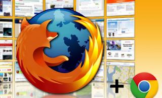 Firefox and Chrome
