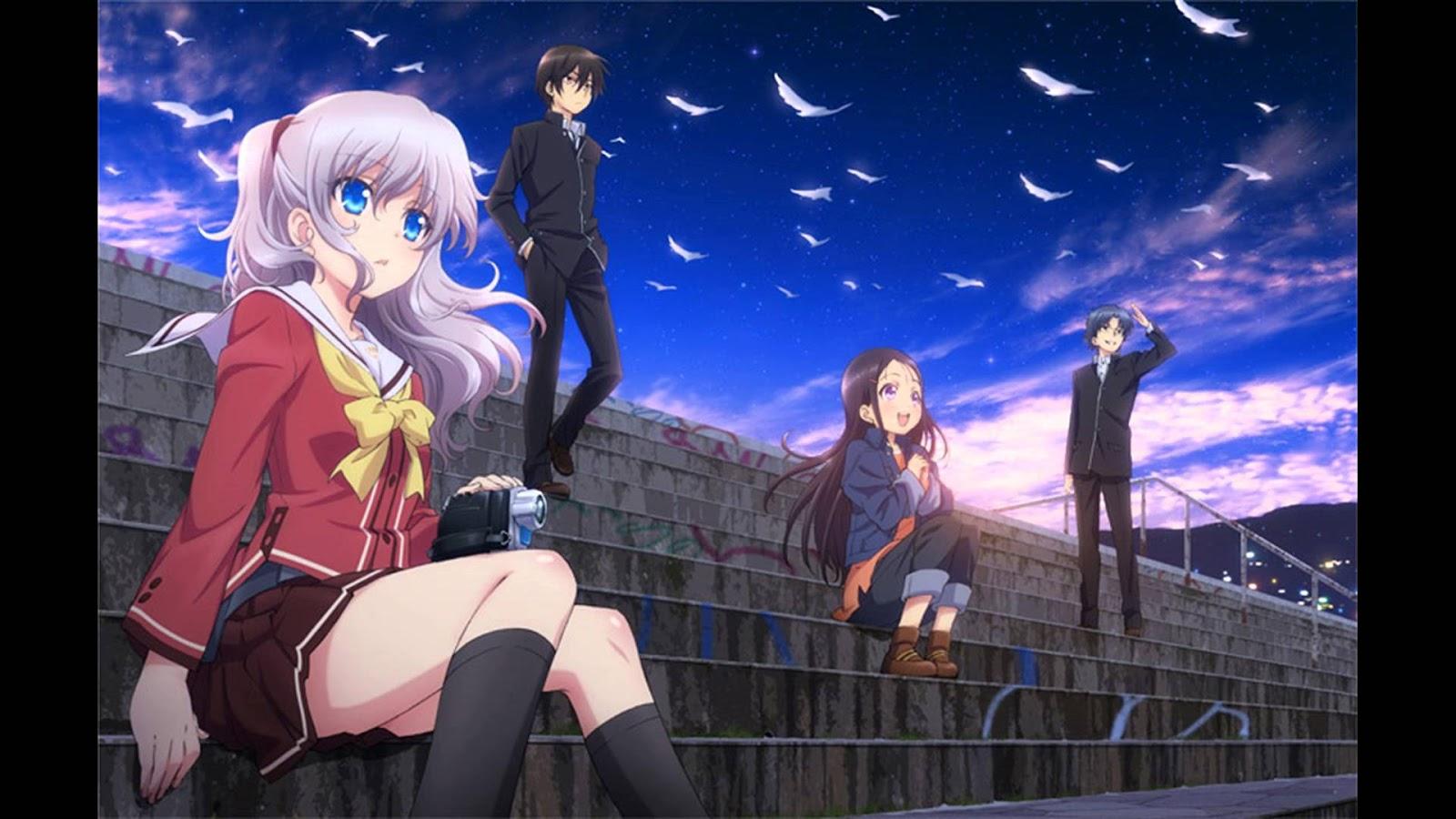 Download Charlotte OVA BD Subtitle Indonesia